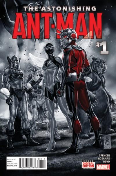 THE ASTONISHING ANT-MAN (2015) #1 VF/NM