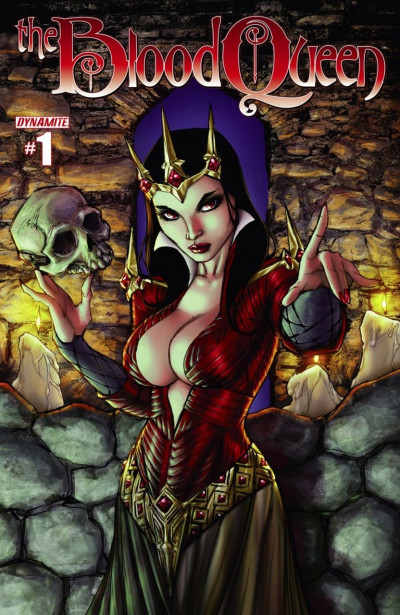 THE BLOOD QUEEN (2014) #1 VF/NM COVER B DYNAMITE