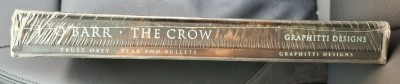 The Crow Hardcover Grapphitti Designs 1994 Signed LE 1500 w/ CD & Slipcover NM |