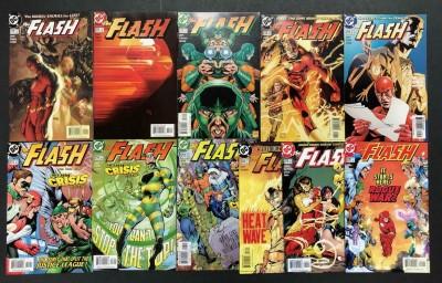 The Flash (1987) #'s 210-220 VF/NM Set Michael Turner Howard Porter Geoff Johns