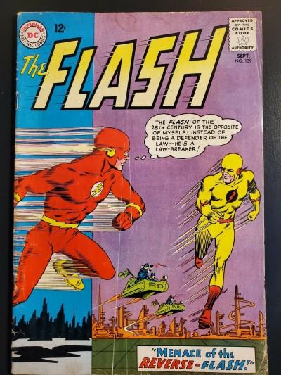 THE FLASH #139 (1963) VG (4.0) 1st Professor Zoom / Reverse Flash |
