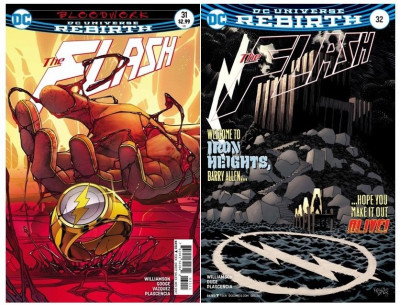 The Flash (2016) #'s 31 32 34-44 + Annual #1 VF/NM Regular Cover A Set