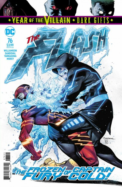 The Flash (2016) #76 VF/NM Rafa Sandoval Cover YOTV Dark Gifts