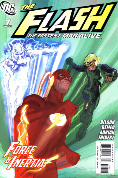 THE FLASH: THE FASTEST MAN ALIVE (2006) #7 VF/NM