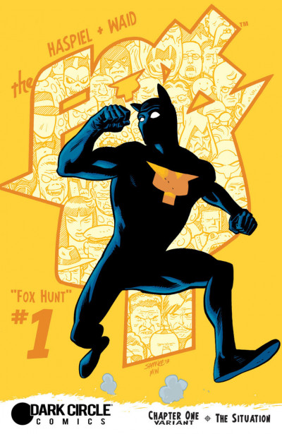 THE FOX (2015) #1 VF/NM SAMNEE VARIANT COVER DARK CIRCLE COMICS