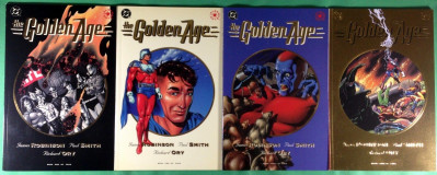 The Golden Age (1993) 1 2 3 4 NM (9.4) complete set James Robinson Paul Smith