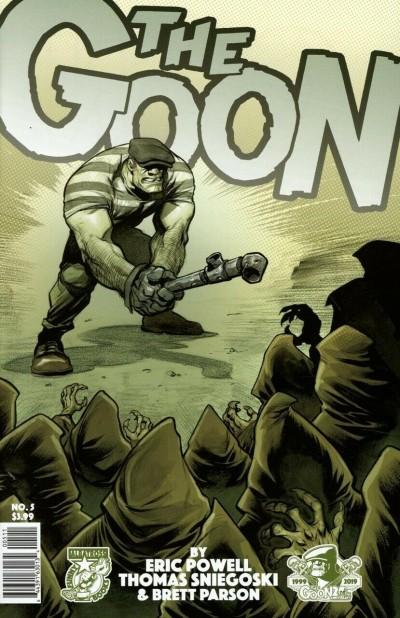 The Goon (2019) #5 VF/NM Eric Powell Albatross Funny Books