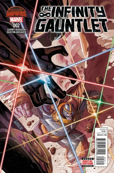 The Infinity Gauntlet (2015) #2 VF/NM Dustin Weaver Cover Secret Wars Tie-In
