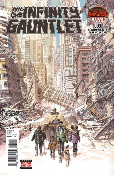 The Infinity Gauntlet (2015) #3 VF/NM Dustin Weaver Cover Secret Wars Tie-In