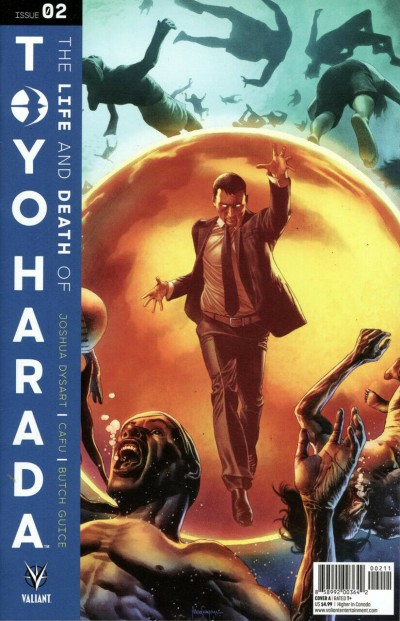 The Life and Death of Toyo Harada (2019) #2 VF/NM Mico Suayan Cover Valiant