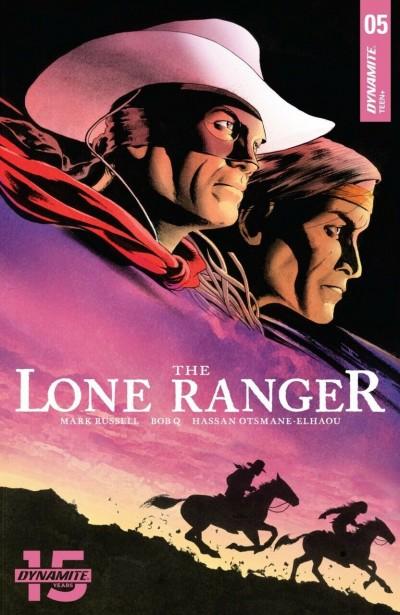 The Lone Ranger (2018) #5 VF/NM John Cassaday Cover Dynamite