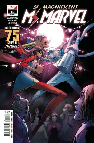 The Magnificent Ms. Marvel (2019) #18  (#75) VF/NM Stormranger