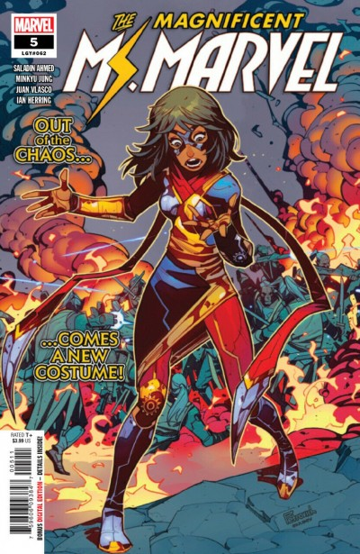 The Magnificent Ms. Marvel (2019) #5 VF/NM New Costume Secret Wars 8 Cover Swipe