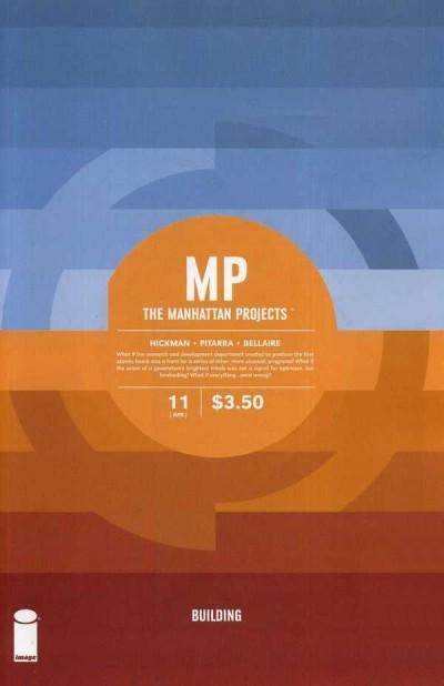 THE MANHATTAN PROJECTS #11 VF/NM IMAGE COMICS HICKMAN
