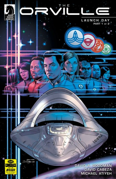 The Orville: Launch Day (2020) #1 VF/NM Dark Horse Comics
