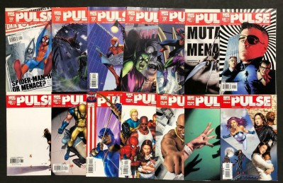 The Pulse (2005) #'s 1 2 3 4 5 6 7 8 9 12 13 14 15 16 Near Complete VF Bendis
