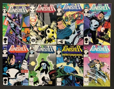 The Punisher (1987) #'s 1-34 + Annuals 1 2 3 VF/NM Set 37 Books