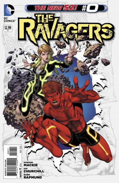 THE RAVAGERS (2012) #0 NM THE NEW 52!