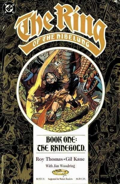 The Ring of the Nibelung (1989) #'s 1 2 3 4 Complete Set GIl Kane Roy Thomas