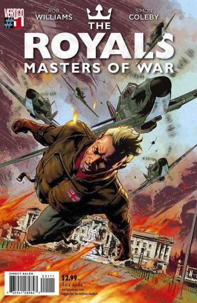 THE ROYALS: MASTERS OF WAR (2014) #1 OF 6 VF/NM VERTIGO