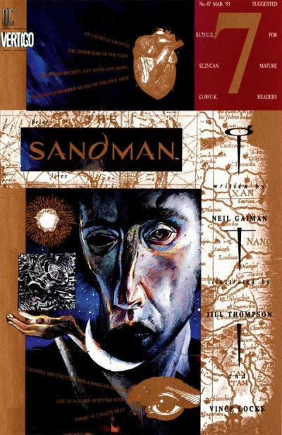 THE SANDMAN #47 VF+ - VF/NM NEIL GAIMAN VERTIGO