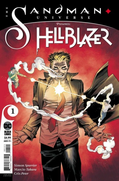 The Sandman Universe Presents Hellblazer (2019) #1 VF/NM Declan Shalvey Cover