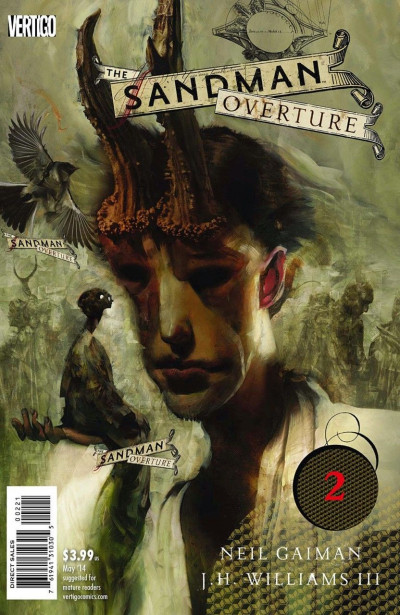 THE SANDMAN: OVERTURE (2013) #2 VF/NM VERTIGO NEIL GAIMAN COVER B