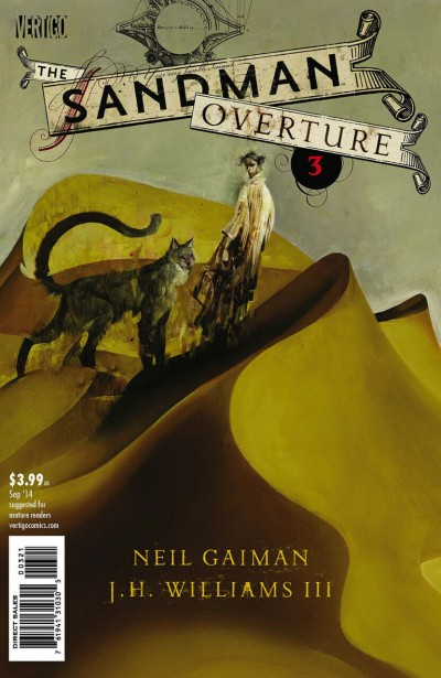 The Sandman: Overture (2014) #3 of 6 VF/NM Dave McKean Variant Vertigo Cover