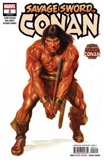 The Savage Sword of Conan (2019) #2 VF/NM Alex Ross Regular Cover