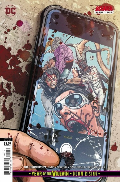 The Terrifics (2018) #21 VF/NM Tony Shasteen DCeased Variant Cover