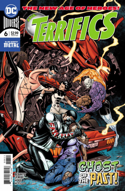 The Terrifics (2018) #6 VF/NM (9.0) or better Dark Nights Metal