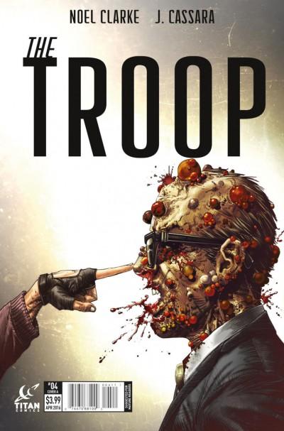THE TROOP (2016) #4 VF/NM COVER A TITAN COMICS