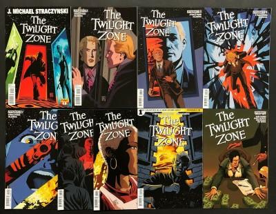 The Twilight Zone (2013) #'s 1 2 3 4 5 6 7 9 + Annual 1 Lot of 9 Straczynski