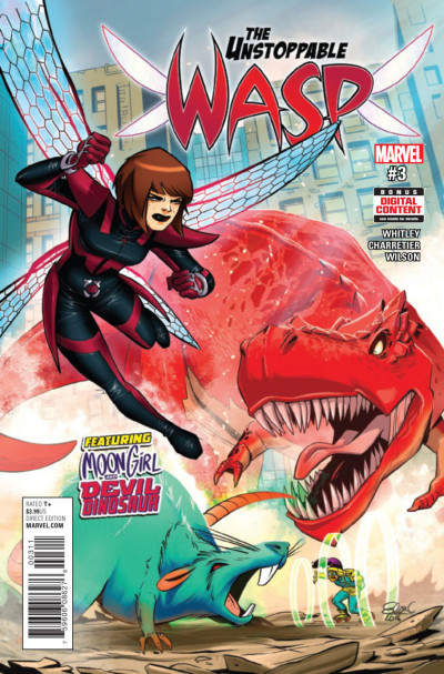 The Unstoppable Wasp (2015) #3 VF/NM