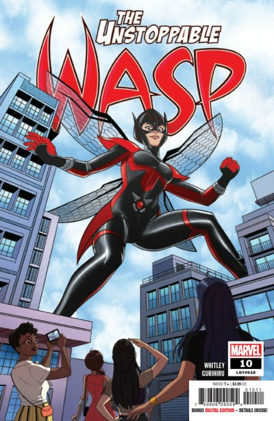 The Unstoppable Wasp (2018) #10 VF/NM