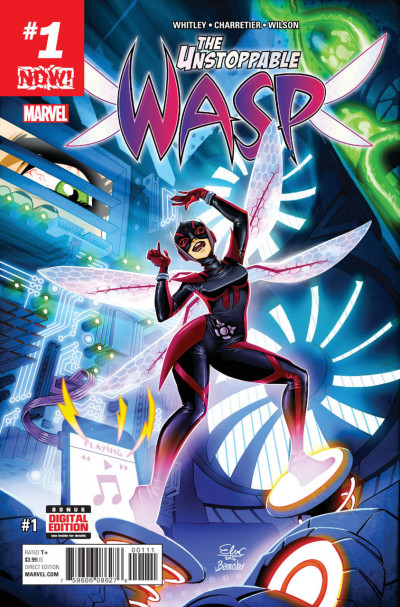 The Unstoppable Wasp (2015) #1 VF/NM