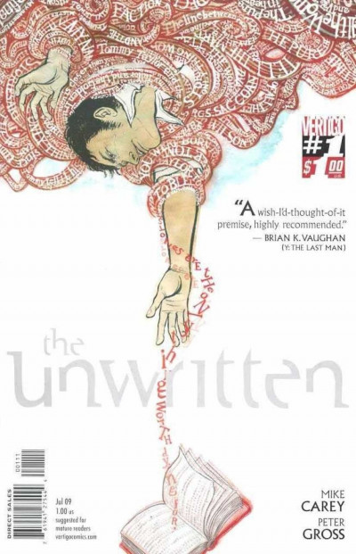 THE UNWRITTEN #1 FN-  MIKE CAREY VERTIGO