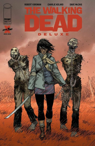 The Walking Dead: Deluxe (2020) #19 VF/NM Tony Moore 1st App Michonne Reprint