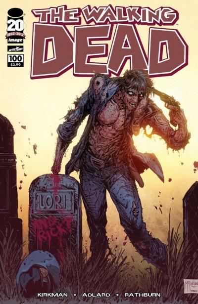 The Walking Dead (2003) #100 VF/NM-NM Todd McFarlane Variant 1st Negan App