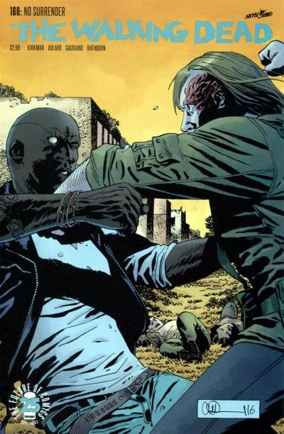The Walking Dead (2003) #166 VF Charlie Adlard Cover Image Comics
