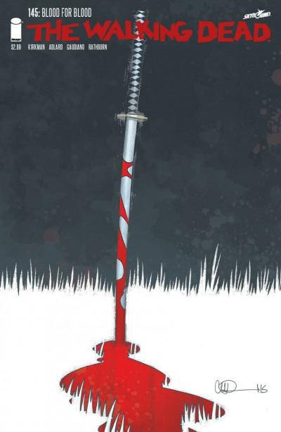 The Walking Dead (2003) #145 VF Charlie Adlard Cover Image Comics