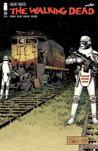 The Walking Dead (2003) #184 VF/NM Charlie Adlard Cover Image Comics