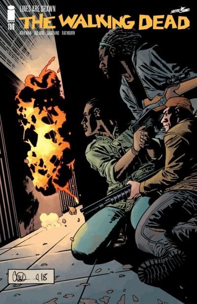 The Walking Dead (2003) #189 VF/NM Charlie Adlard Cover Robert Kirkman AMC Image