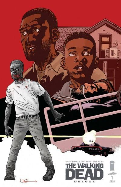 The Walking Dead: Deluxe (2020) #1 VF/NM Charllie Adlard Cover Image Comics