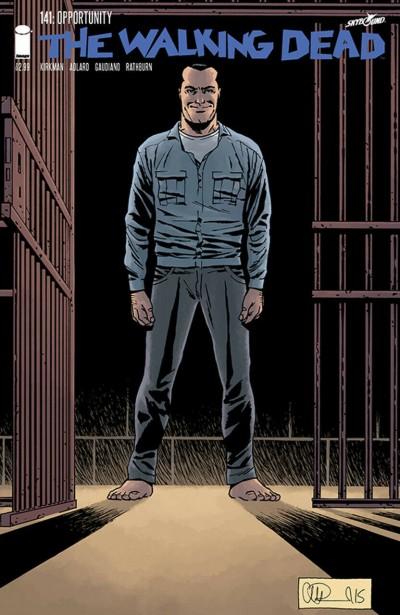 The Walking Dead (2003) #141 VF Negan Charlie Adlard Cover Image Comics
