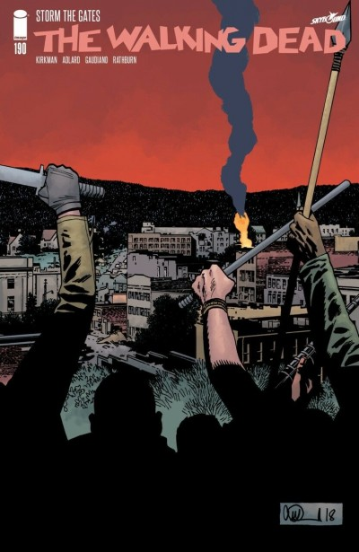 The Walking Dead (2003) #190 VF Adlard Cover Image Comics