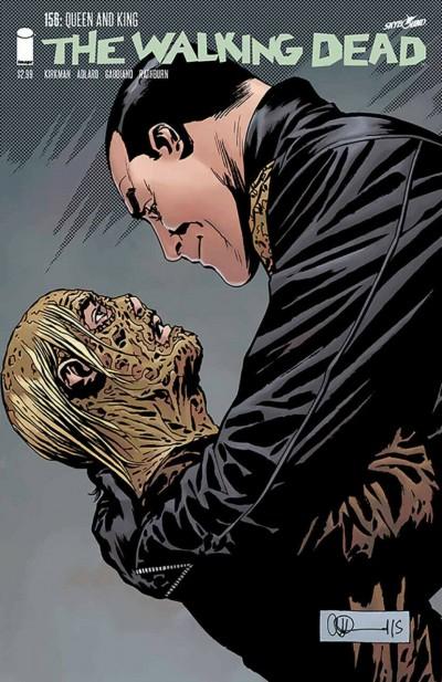 The Walking Dead (2003) #156 VF+ Negan Charlie Adlard Image Comics