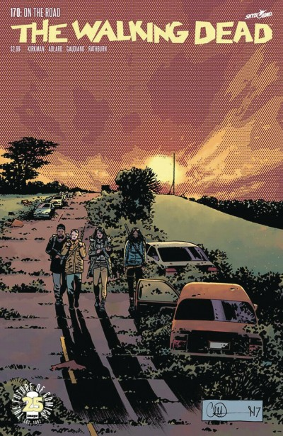 The Walking Dead (2003) #170 VF Charlie Adlard Cover Image Comics