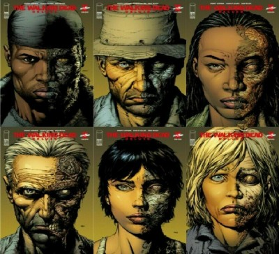 The Walking Dead: Deluxe (2020) #'s 7 8 9 10 11 12 2nd Print Variant Cover Set