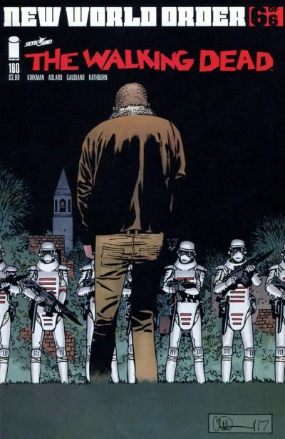 The Walking Dead (2003) #180 VF/NM Charlie Adlard Cover Robert Kirkman AMC Image
